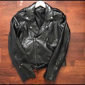 Blk Dnm Jacket No 1. Moto Jacket